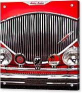 1955 Austin Healey 100-4 Acrylic Print by David Patterson
