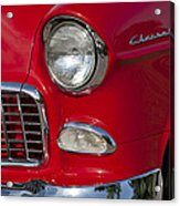 1955 Chevrolet 210 Front End Acrylic Print