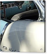 1955 Chevrolet Belair Dashboard 2 Acrylic Print