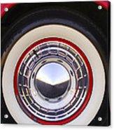 1955 Chevrolet Nomad Wheel Acrylic Print