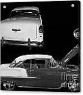 1955 Chevy Bel Air 2 Door Hard Top Acrylic Print