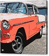 1955 Chevy Acrylic Print by Steve McKinzie