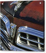 1955 Chrysler Hood Ornament Acrylic Print
