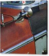 1955 Chrysler Windsor Deluxe Emblem Acrylic Print