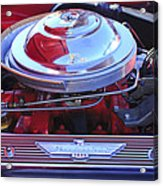 1955 Ford Thunderbird Engine Acrylic Print