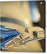 1955 Pontiac Star Chief Hood Ornament  Acrylic Print