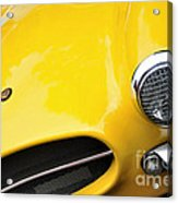 1956 Buckle Gt Coupe - Badge Grill Headlight Acrylic Print