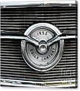 1956 Buick Century Grill Emblem Acrylic Print