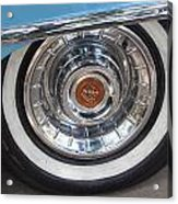 1956 Cadillac Front Wheel Acrylic Print