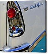 1956 Chevrolet Belair Taillight Emblem Acrylic Print