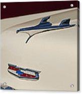 1956 Chevrolet Hood Ornament 5 Acrylic Print