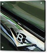 1956 Ford F-100 Truck Emblem 3 Acrylic Print