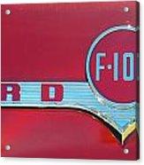 1956 Ford F100 Acrylic Print