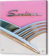 1956 Ford Fairlane Sunliner Acrylic Print