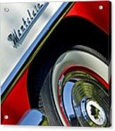 1956 Mercury Montclair Wheel Emblem Acrylic Print
