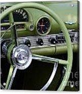 1956 Thunderbird Interior Acrylic Print