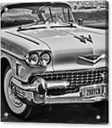 1957 Cadillac Acrylic Print