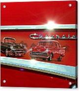 1957 Chevrolet Acrylic Print