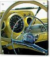 1957 Chevy Bel Air Dash Acrylic Print
