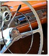 1957 Chevy Dash Acrylic Print