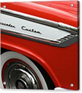 1957 Nash Ambassador Custom Acrylic Print