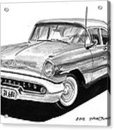 Oldsmobile Super 88 Acrylic Print