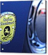 1957 Porsche Emblem Acrylic Print