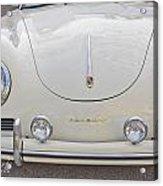 1957 Porsche Speedster Antique Car Acrylic Print