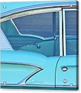 1958 Chevrolet Belair Acrylic Print