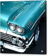 1958 Chevy Belair Front End 01 Acrylic Print