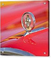 1958 Edsel Roundup Hood Ornament Acrylic Print