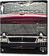 1958 Lincoln Continental Acrylic Print