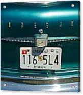 1958 Studebaker Acrylic Print