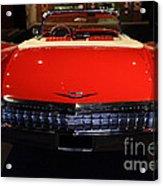 1959 Cadillac Convertible - 7d17377 Acrylic Print by Wingsdomain Art and Photography