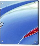 1959 Chevrolet Corvette Taillight Emblem Acrylic Print