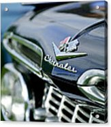 1959 Chevrolet Grille Emblem Acrylic Print