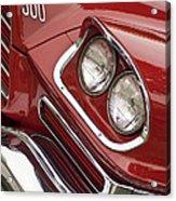 1959 Chrysler 300 Headlight Acrylic Print