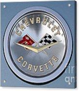 1959 Corvette Emblem Acrylic Print