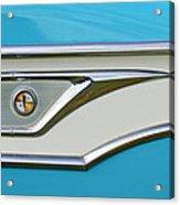 1959 Edsel Corvair Side Emblem Acrylic Print