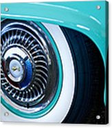 1959 Ford Ranchero Wheel Emblem Acrylic Print