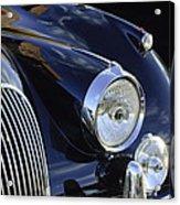 1959 Jaguar S Roadster Headlights Acrylic Print