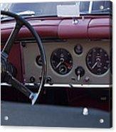 1959 Jaguar S Roadster Steering Wheel Acrylic Print