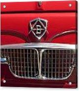 1960 Autobianchi Bianchina Transformabile Coupe Hood Emblem Acrylic Print