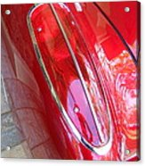 1960 Chevrolet Corvette Tail Light Acrylic Print