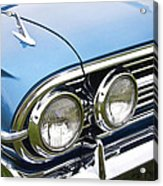 1960 Chevrolet Impala Front End Acrylic Print