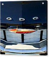 1960 Dodge Grille Emblem Acrylic Print