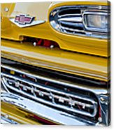 1961 Chevrolet Front End Acrylic Print