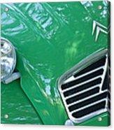 1961 Citroen 2cv Landaulet Hood Emblem Acrylic Print