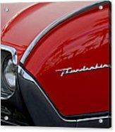 1961 Ford Thunderbird Headlight Emblem Acrylic Print