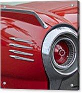 1961 Ford Thunderbird Taillight Acrylic Print